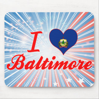 I Love Baltimore, Vermont Mouse Pads