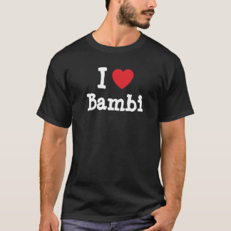 I love Bambi heart T-Shirt