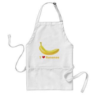 I Love Bananas Standard Apron