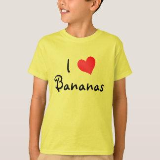 I Love Bananas T-Shirt