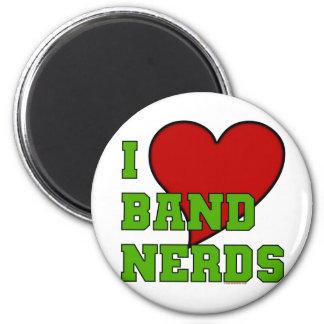 I Love Band Nerds 2 6 Cm Round Magnet