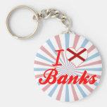 I Love Banks, Alabama Key Chain
