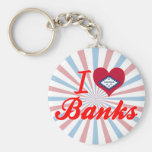 I Love Banks, Arkansas Keychains