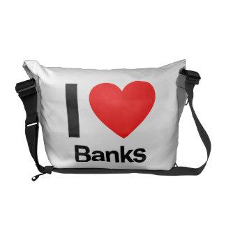 i love banks commuter bags