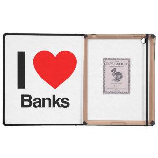 i love banks iPad cases