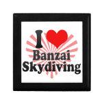 I love Banzai Skydiving Gift Box