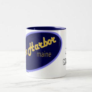 I Love Bar Harbor Maine mug