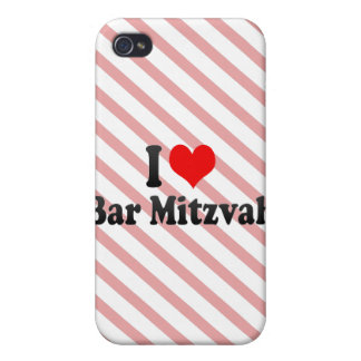 I love Bar Mitzvah Cover For iPhone 4