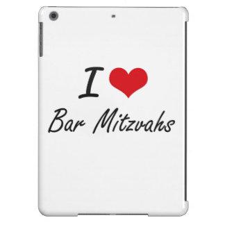 I Love Bar Mitzvahs Artistic Design Case For iPad Air