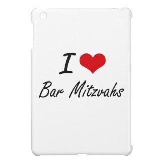 I Love Bar Mitzvahs Artistic Design Cover For The iPad Mini