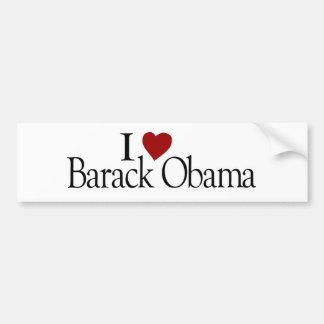 I Love Barack Obama Bumper Sticker