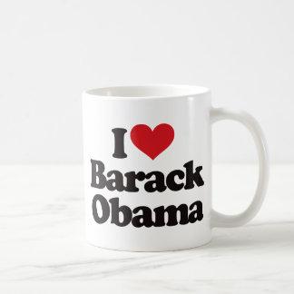 I Love Barack Obama Coffee Mug