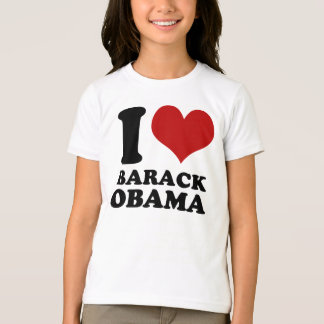 I love Barack Obama Kids t shirt