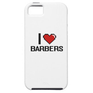 I love Barbers iPhone 5 Cases