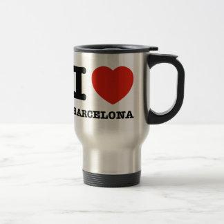 I Love Barcelona Stainless Steel Travel Mug