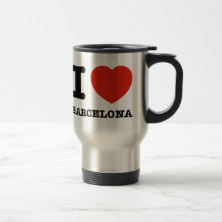 I Love Barcelona Travel Mug