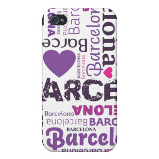 i love barcelona typography iphone case iPhone 4/4S cover