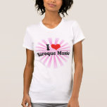 I Love Baroque Music Tee Shirts