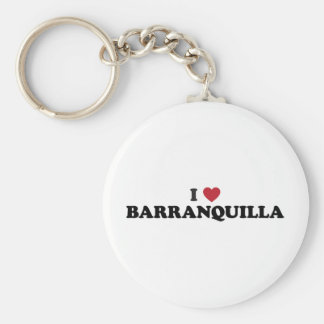 I Love Barranquilla Colombia Key Ring