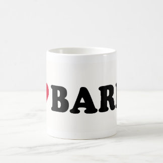 I LOVE BARRY BASIC WHITE MUG