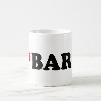 I LOVE BARRY COFFEE MUGS