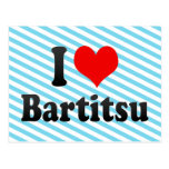 I love Bartitsu Post Card