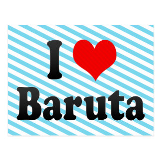 I Love Baruta, Venezuela Postcard