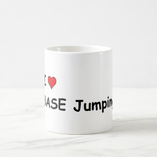 I Love BASE Jumping Basic White Mug