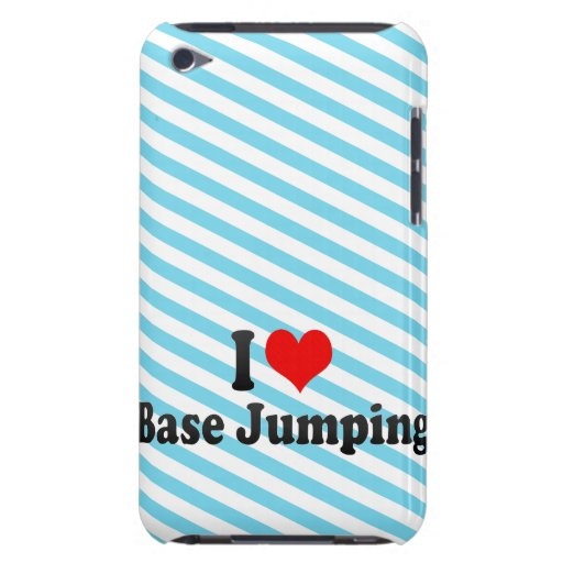 I love Base Jumping iPod Touch Cover
