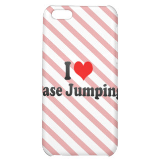 I love Base Jumping iPhone 5C Cases