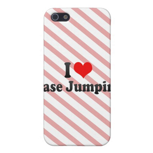 I love Base Jumping iPhone 5 Cover