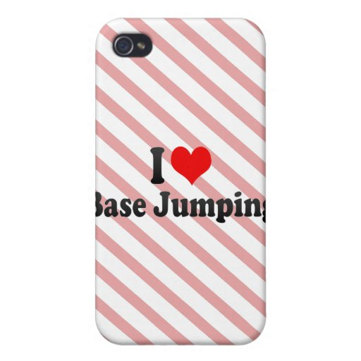 I love Base Jumping Case For iPhone 4