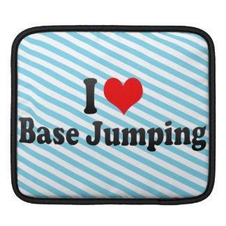 I love Base Jumping MacBook Air Sleeve