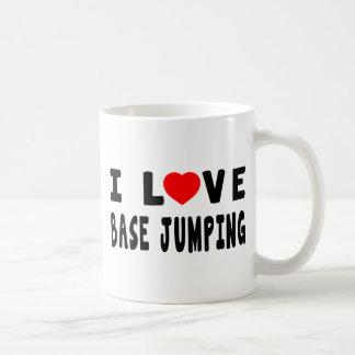 I Love Base Jumping Mugs