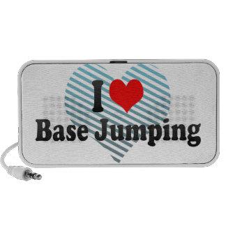 I love Base Jumping Travel Speaker