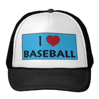 I Love Baseball Hats