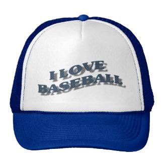 I LOVE BASEBALL-HAT