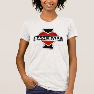 I Love Baseball T Shirts