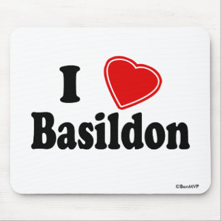 I Love Basildon Mouse Mat