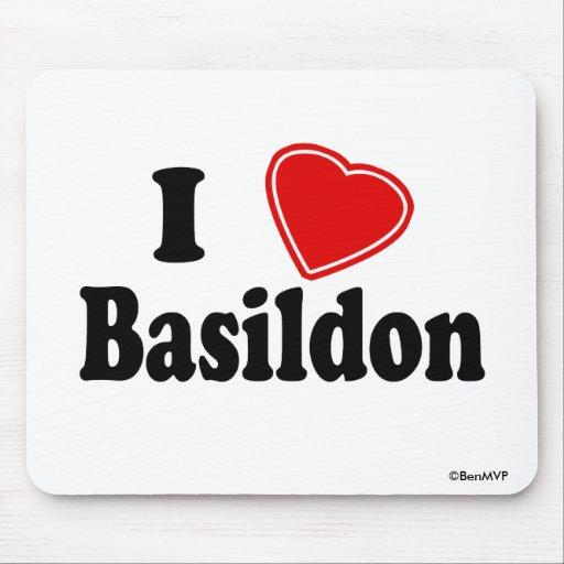 I Love Basildon Mouse Pads