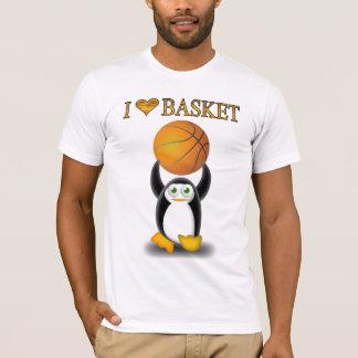 i love basket T-Shirt