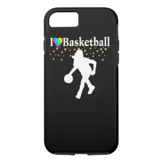 I LOVE BASKETBALL DESIGN iPhone 7 CASE