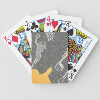 i love basketball playing cards