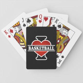 I Love Basketball Poker Cards