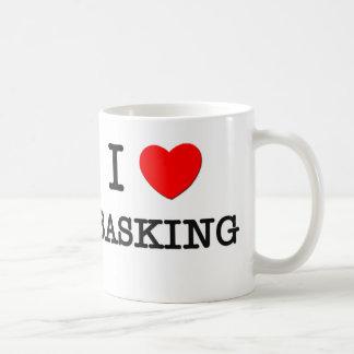 I Love Basking Basic White Mug