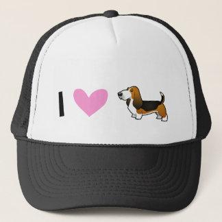 I Love Basset Hounds Trucker Hat