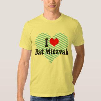 I love Bat Mitzvah T-shirt