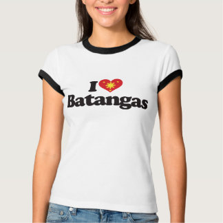 I Love Batangas Tee Shirts
