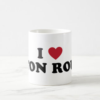 I Love Baton Rouge Louisiana Basic White Mug