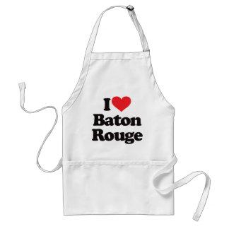 I Love Baton Rouge Standard Apron